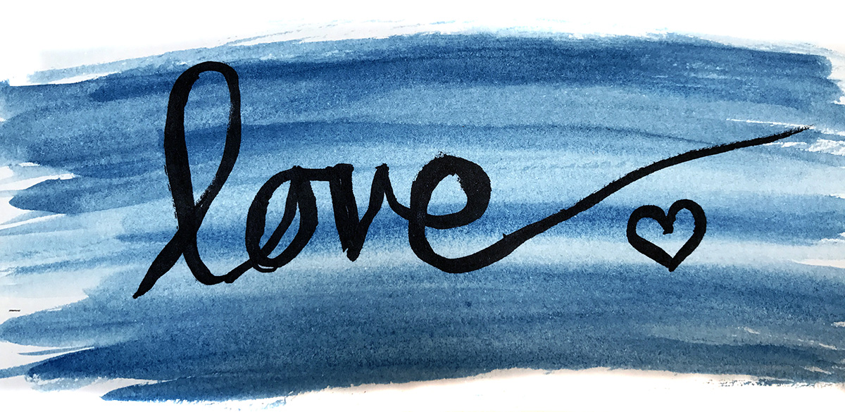 skillshare waterbrush love